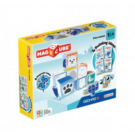 Geomag MagiCube Polar Animals - 8 pieces