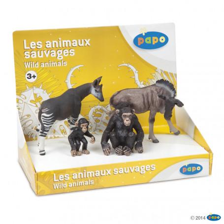 Papo 80000 Display Box Wild Animals